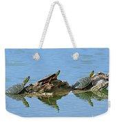 Western Painted Turtles Weekender Tote Bag