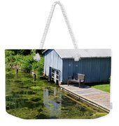 Westport Harbour In Southern Ontario Weekender Tote Bag