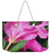 Wet Blooms Weekender Tote Bag