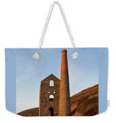 Wheal Coates Mine Chapel Porth Cornwall Weekender Tote Bag