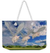When Pigs Fly Weekender Tote Bag