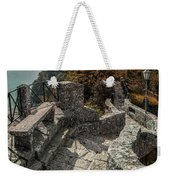 When The Leaves Go Golden Weekender Tote Bag