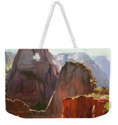 Where Angels Land Weekender Tote Bag by Steve Henderson