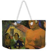 Where Are You Going 1892 Weekender Tote Bag