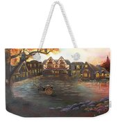 Where Stories Are Told Weekender Tote Bag