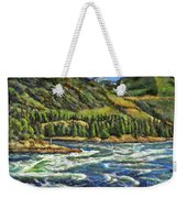Where Waters Meet 3 Weekender Tote Bag