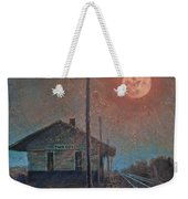 Whistle Of The Past Weekender Tote Bag