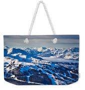 Whistler In Winter Weekender Tote Bag