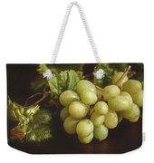 White Grapes Weekender Tote Bag