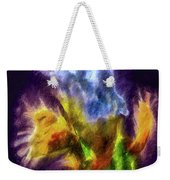 White Lily Bud #i0 Weekender Tote Bag by Leif Sohlman
