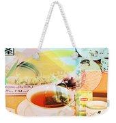 White Tea Blend  Weekender Tote Bag