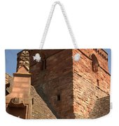 Whitekirk 12th Century Church Tower In East Lothian Weekender Tote Bag