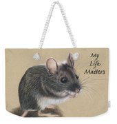 Wild Deer Mouse Weekender Tote Bag
