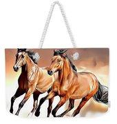 Wild Horses Weekender Tote Bag