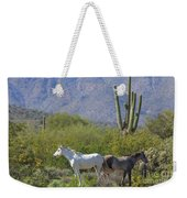Wild Horses Tonto National Forest Weekender Tote Bag