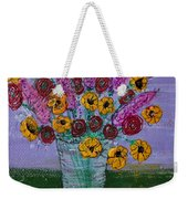 Wild Weekender Tote Bag by Kim Nelson