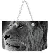 Wild Lion Face Weekender Tote Bag