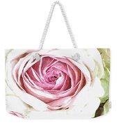Wild Pink Roses Weekender Tote Bag