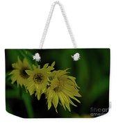 Wild Sunflowers In The Wind Weekender Tote Bag