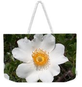 Wild Texas Rose, White Weekender Tote Bag