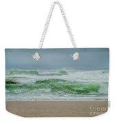 Wild Waves Weekender Tote Bag by Judy Hall-Folde