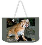 Wildcats Mascot 3 Weekender Tote Bag