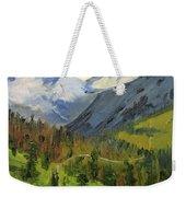 Wilderness Adventure Weekender Tote Bag