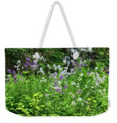 Wildflowers On Green's Hills Weekender Tote Bag