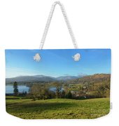 Windermere With Loughrigg Fell And The Langdales From Ambleside Weekender Tote Bag