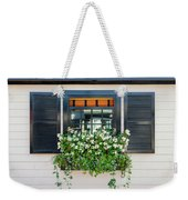 Window Full Of Flowers Weekender Tote Bag