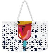 Wine And Matzo- Art By Linda Woods Weekender Tote Bag