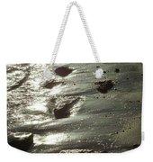 Winter Sun On The Tide Weekender Tote Bag