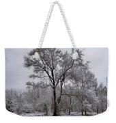 Winter Survivor Weekender Tote Bag