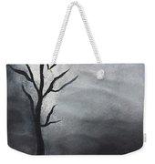 Winter Tree At Night.  Weekender Tote Bag