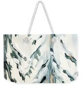 Winter Trees #4 Weekender Tote Bag by Maria Langgle