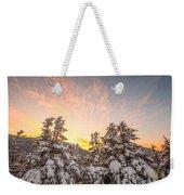 Winter's Last Light, Weekender Tote Bag by Jeff Sinon