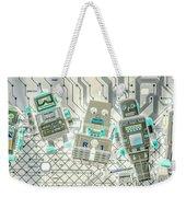 Wired Intelligence Weekender Tote Bag