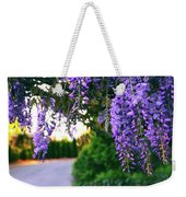 Wisteria At Sunset Weekender Tote Bag