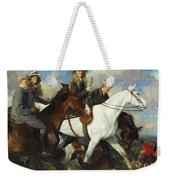 With The York And Ainsty, The Children Of Mr Edward Lycett Green Weekender Tote Bag