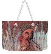 Woman In Reeds Weekender Tote Bag