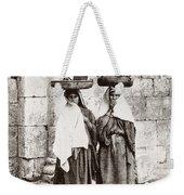 Women From Siloan In Jerusalem Weekender Tote Bag