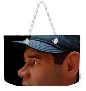 Wood Carving - Babe Ruth 002 Profile Weekender Tote Bag