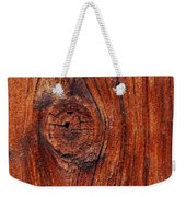 Wood Knot Weekender Tote Bag by ISAW Company