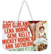 Word And Music 1948 Film Weekender Tote Bag