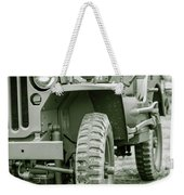 World War II Era Us Army Jeep Weekender Tote Bag