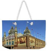 Worlds Only Corn Palace 2018-19 Weekender Tote Bag by Rich Stedman