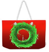Wreath2 Weekender Tote Bag