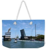 Wrightsville Beach Bridge In North Carolina Weekender Tote Bag