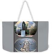 World War 2 Memorial Savannah Weekender Tote Bag
