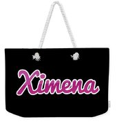 Ximena #ximena Weekender Tote Bag